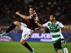 Sassuolo, la rovesciata di Belotti e il Torino: siparietto sui social. Goal