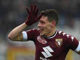 Torino's Andrea Belotti scored a brace on Sunday. Goal