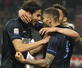 Andrea Ranocchia and Mauro Icardi - cropped