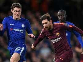 Conte defends 'incredible' Christensen after Barcelona error
