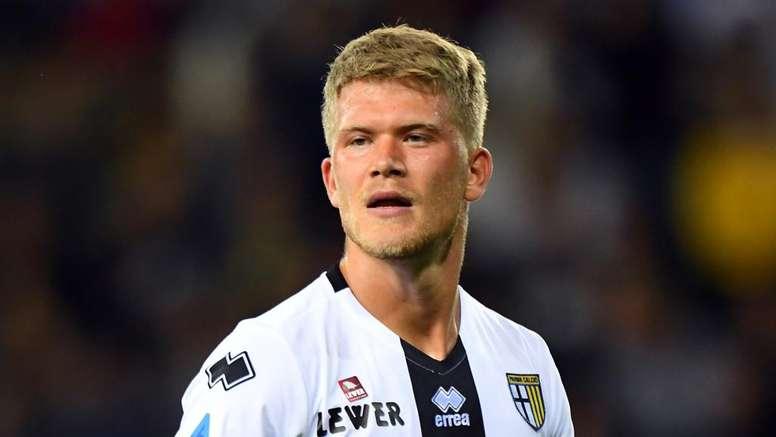 Cornelius preoccupa il Parma: 'Credo di avere una lesione'