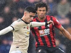 Bournemouth 1-0 United - Les Red Devils retombent dans leurs travers. AFP