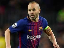 Iniesta aprova Gustavo Maia no Barcelona e se diz triste por Ronaldinho. EFE