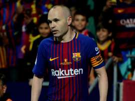 Iniesta is coming to the end of his final season at Barca. GOAL