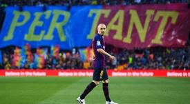Suarez: Iniesta hard to replace at Barcelona.