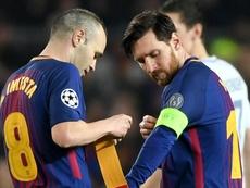 Inter de Milão cogitou Messi e quase contratou Iniesta, revela ex-presidente
