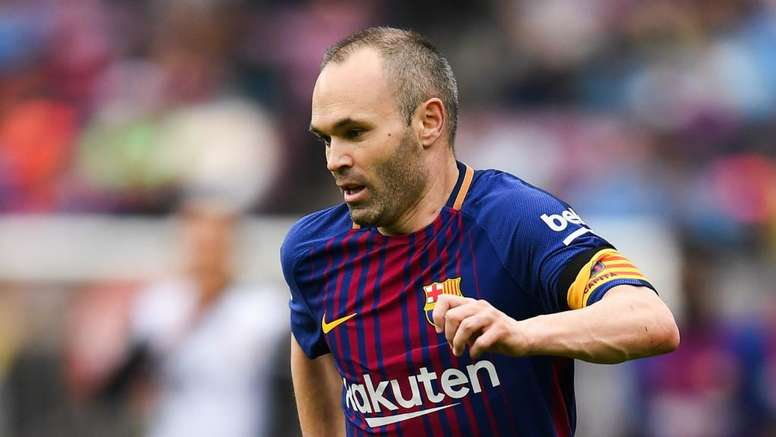 Iniesta could leave Barcelona. GOAL