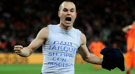 Andres Iniesta had a great career for Barcelona and Spain. GOAL