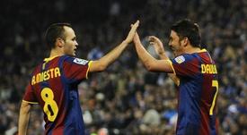 Iniesta played a key role in selling Vissel Kobe to Villa. GOAL