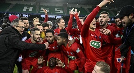 Marseille suffered a humiliating exit from the Coupe de France on Sunday. GOAL