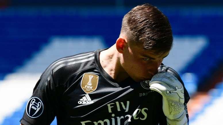 Lunin convainc les dirigeants du Real Madrid. Goal