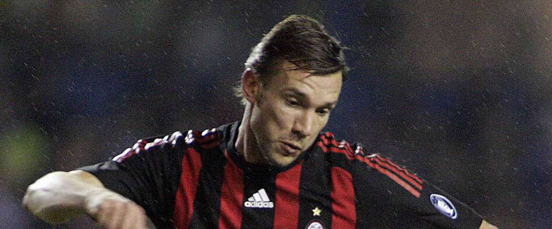 Andriy Shevchenko. Goal