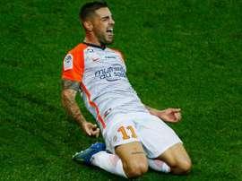 Delort s'éclate cette saison sous le maillot de Montpellier. Goal