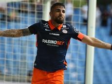 Montpellier enchaîne, le derby pour Brest, Strasbourg se réveille et enfonce Dijon. afp