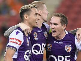 Perth fought back to claim top spot. GOAL
