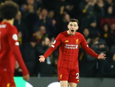 Robertson 'can only apologise' for Liverpool display in Watford thrashing. GOAL