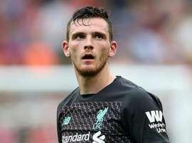 Robertson: Liverpool will get boost. GOAL