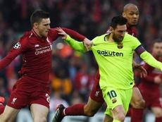 Robertson diz que se arrepende por ter provocado Messi. GOAL