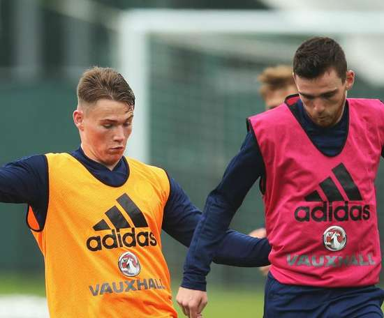 Robertson relishing Old Trafford battle with 'excellent' compatriot McTominay. Goal