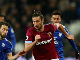Andy Carroll in action against Cardiff. GOAL