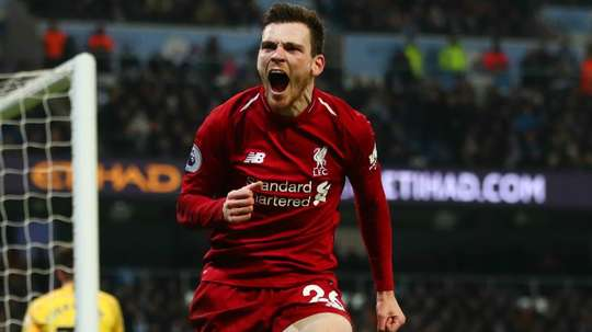 Andy Robertson admits he found it tough when he was struggling to play. GOAL