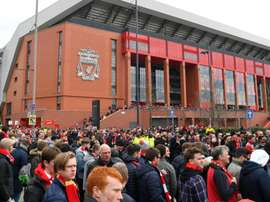 New Anfield redevelopment plans announced by Liverpool. GOAL