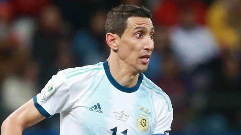 Fora da seleção argentina, Di María se revolta e cita até Neymar e Mbappé. EFE