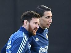 Messi made Argentina squad cry with Copa America speech - Di Maria. GOAL