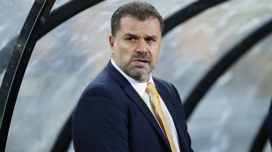 Ange Postecoglou will neither confirm nor deny the rumours. GOAL