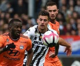 Lyon vient à bout d'Angers. Goal