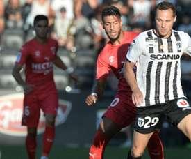 Nîmes a gagné contre Angers. Goal