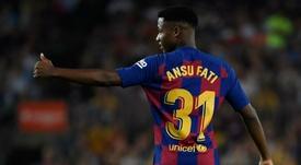 La très grosse clause fixée par le Barça pour Fati. GOAL
