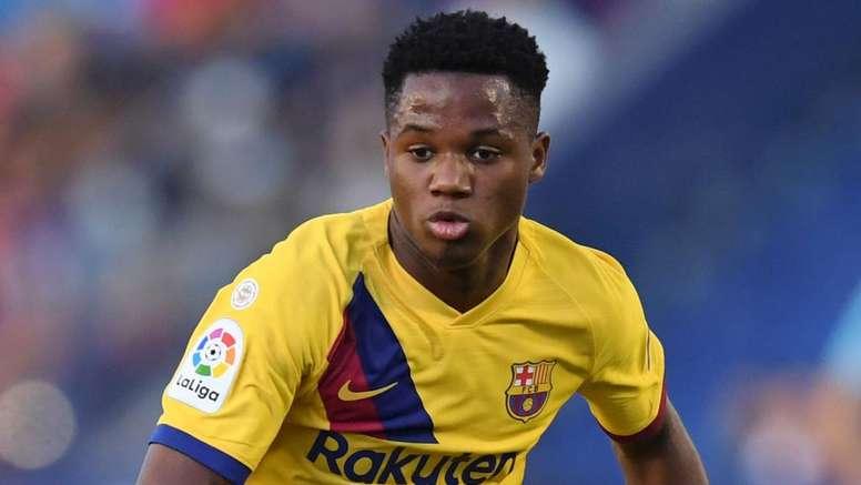 Valverde: Ansu Fati a born scorer