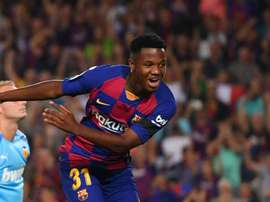Barcelona teenager Ansu Fati must be treated with patience.