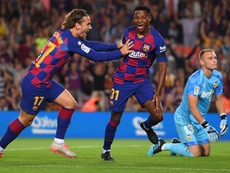 Ansu Fati was lauded by coach Ernesto Valverde after starring in Barcelona's victory over Valencia.