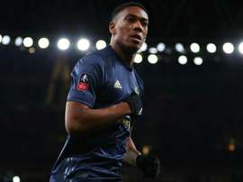 Anthony Martial is among those who could return to place Arsenal. GOAL