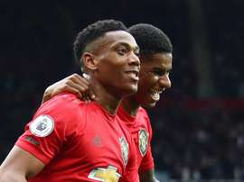Martial enjoys pressure of leading the Manchester Utd line. GOAL