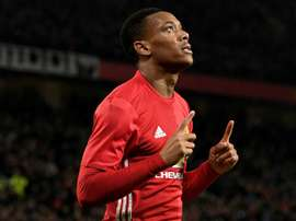 Anthony Martial, Manchester United. GOAL