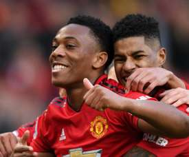 Martial and Rashford driving each other on for Man United