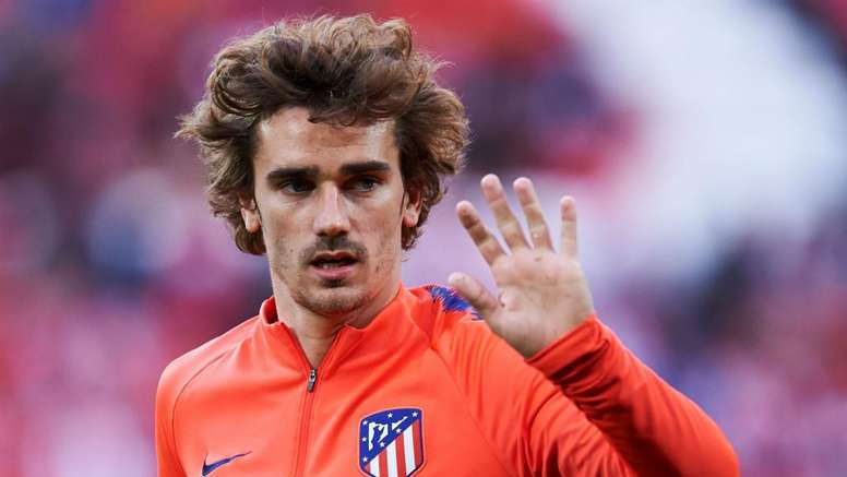 Antoine Griezmann will start in his final match for Atletico Madrid. GOAL