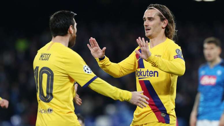 It'll be very different at Camp Nou – Griezmann optimistic after draw at Napoli