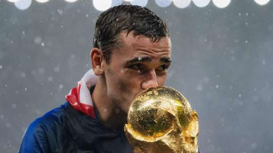 Griezmann won the 2018 World Cup with France. GOAL
