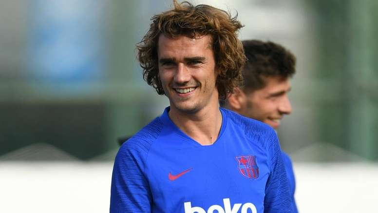 Griezmann cried tears of joy after joining Barca from Atletico.
