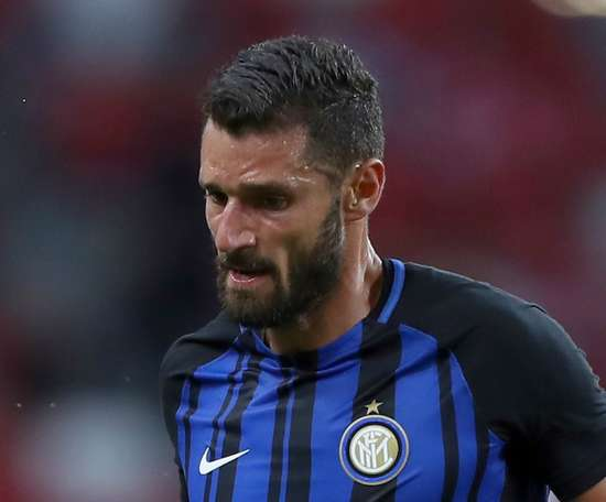 Antonio Candreva is one of the players to have signed a new contract. GOAL
