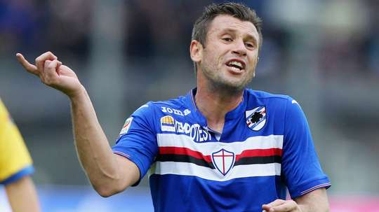 Cassano only recently joined the Serie C outfit. GOAL