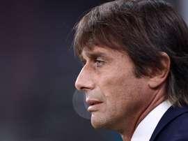 Antonio Conte parla dopo la vittoria nel Derby.