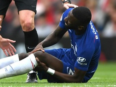 Rudiger suffered a season-ending injury against Manchester United at the weekend. GOAL