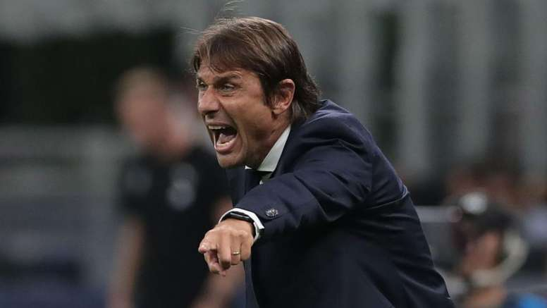 Conte says he was at fault for Inter's draw with Slavia Prague. GOAL