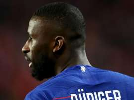 Rudiger was angry with those who racially abused him in Chelsea's win at Tottenham. GOAL