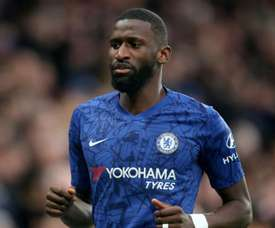 Antonio Rudiger was upset by Spurs fans at Stamford Bridge. GOAL